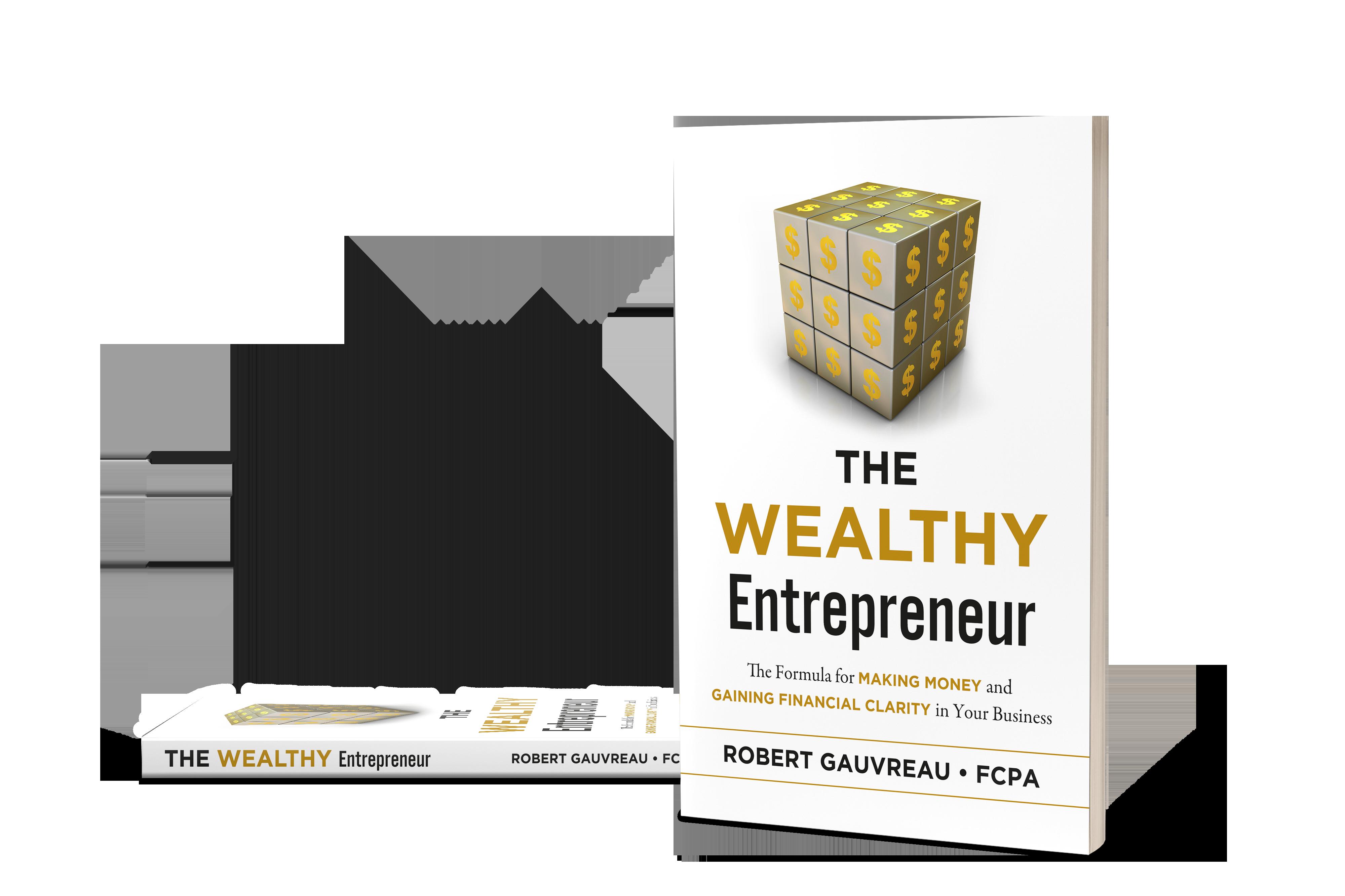 Rendering of The Wealthy Entrepreneur Book by Robert Gauvreau