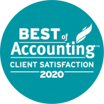 Best of Accounting Client Satisfaction Logo 2020