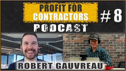 Profit for Contractors Podcast Episode 8 Screengrab