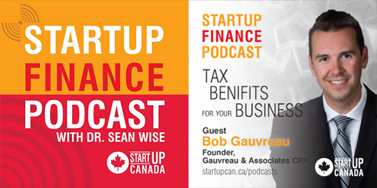startup finance podcast with picture of Bob Gavureau