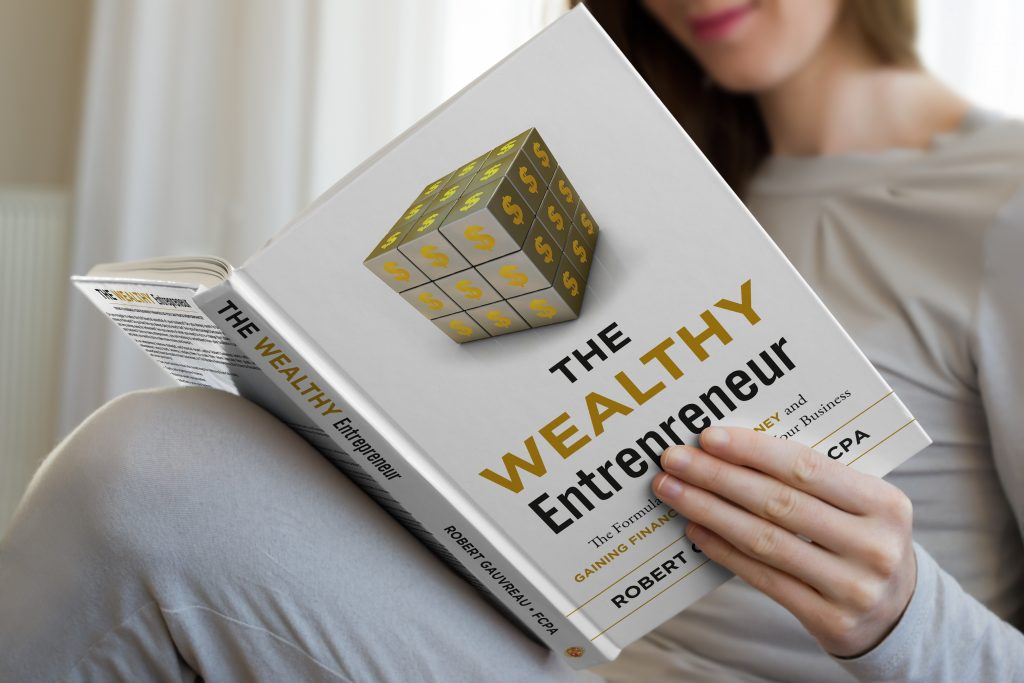 The Wealthy Entrepreneur Book being read by women