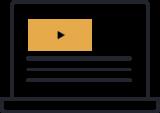 Business training coaching icon